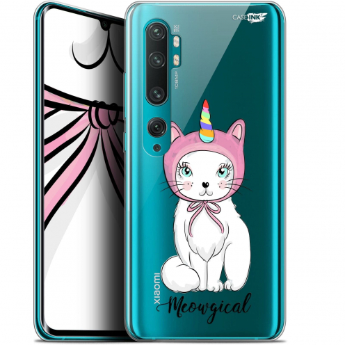 "Extra Slim Gel Xiaomi Mi Note 10 / Pro (6.47"") Case Design Ce Chat Est MEOUgical"