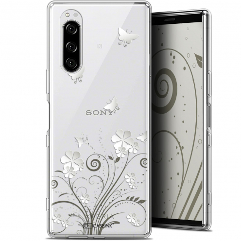 "Extra Slim Gel Sony Xperia 5 (6.1"") Case Summer Papillons"