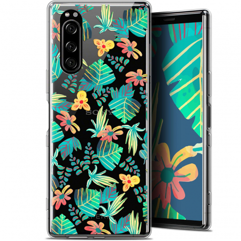 "Extra Slim Gel Sony Xperia 5 (6.1"") Case Spring Tropical"