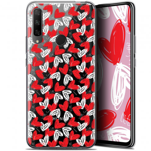 """Extra Slim Gel Huawei Honor 9X (6.59"""") Case Love With Love"""