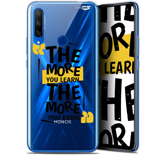 "Extra Slim Gel Huawei Honor 9X (6.59"") Case Design The More You Learn"