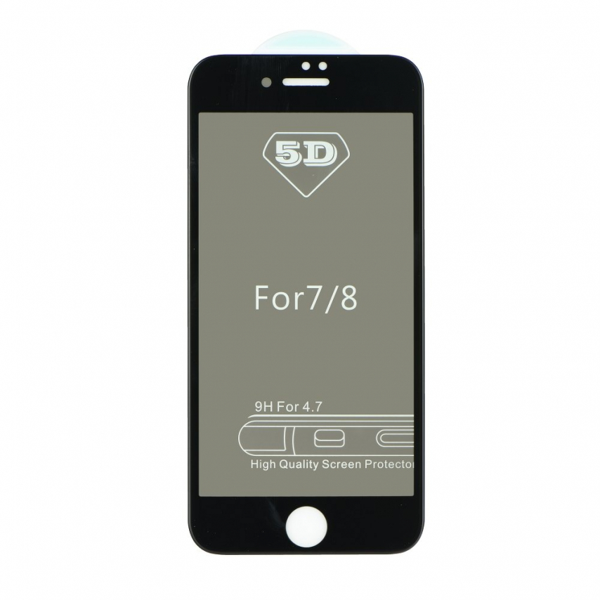 5D Full Glue Tempered Glass - for Iphone X / XS / 11 Pro Privacy black