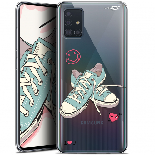 """Extra Slim Gel Samsung Galaxy A51 (A515) (6.5"""") Case Design Mes Sneakers d'Amour"""