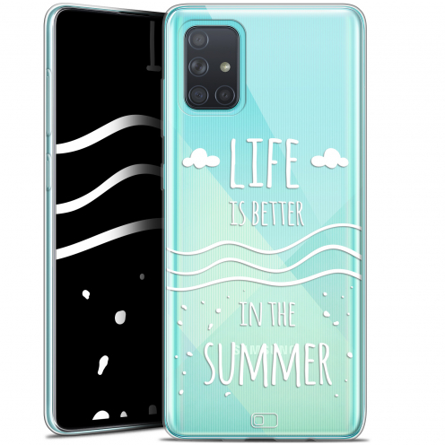 "Extra Slim Gel Samsung Galaxy A71 (A715) (6.7"") Case Summer Life's Better"