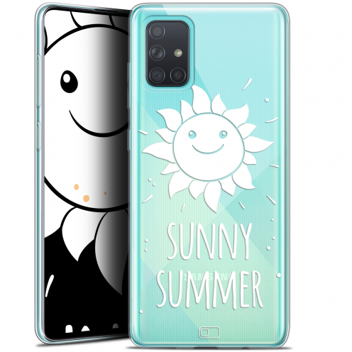 "Extra Slim Gel Samsung Galaxy A71 (A715) (6.7"") Case Summer Sunny Summer"
