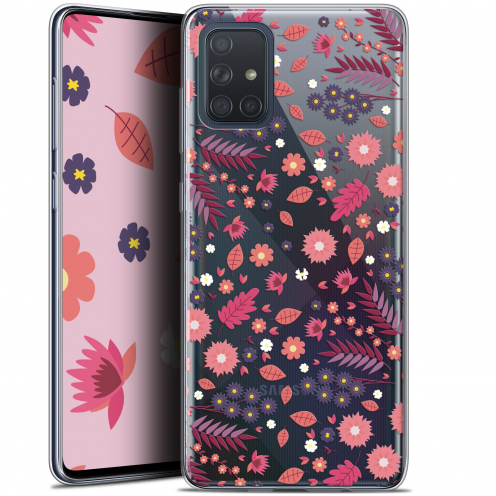 "Extra Slim Gel Samsung Galaxy A71 (A715) (6.7"") Case Spring Printemps"