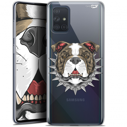 "Extra Slim Gel Samsung Galaxy A71 (A715) (6.7"") Case Design Doggy"