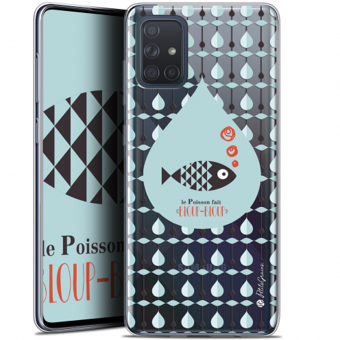 "Extra Slim Gel Samsung Galaxy A71 (A715) (6.7"") Case Petits Grains® Le Poisson"