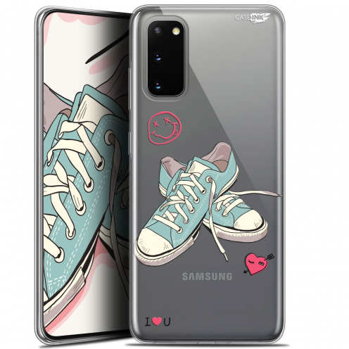 """Extra Slim Gel Samsung Galaxy S20 (6.2"""") Case Design Mes Sneakers d'Amour"""