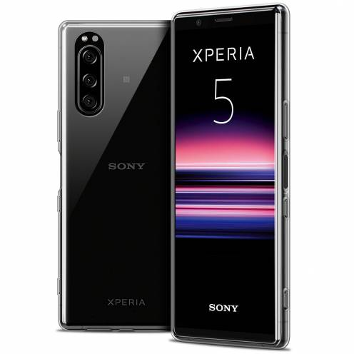 """Extra Slim 1mm Crystal Clear Xperia 5 Flexible Case Sony Xperia 5 (6.1"""")"""