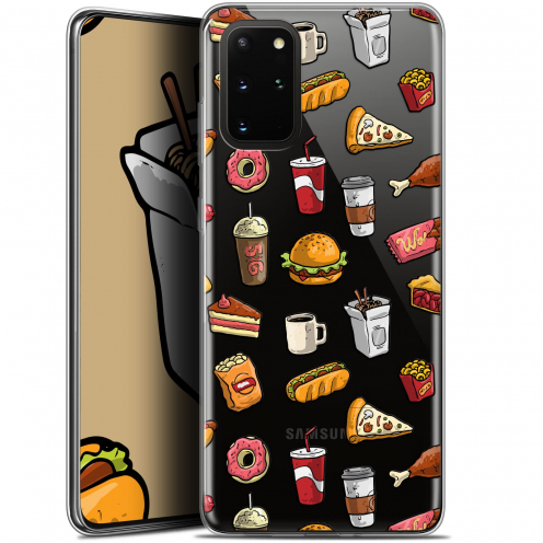 "Extra Slim Gel Samsung S20+ (6.7"") Case Foodie Fast Food"