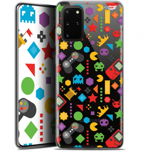 "Extra Slim Gel Samsung S20+ (6.7"") Case Design PacMan"