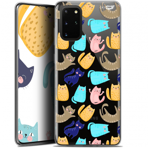 "Extra Slim Gel Samsung S20+ (6.7"") Case Design Chat Danse"
