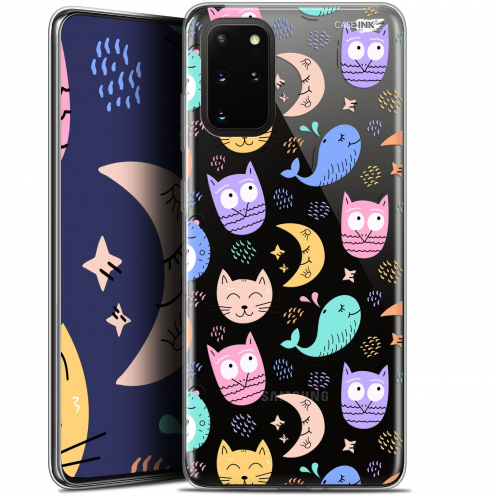 "Extra Slim Gel Samsung S20+ (6.7"") Case Design Chat Hibou"