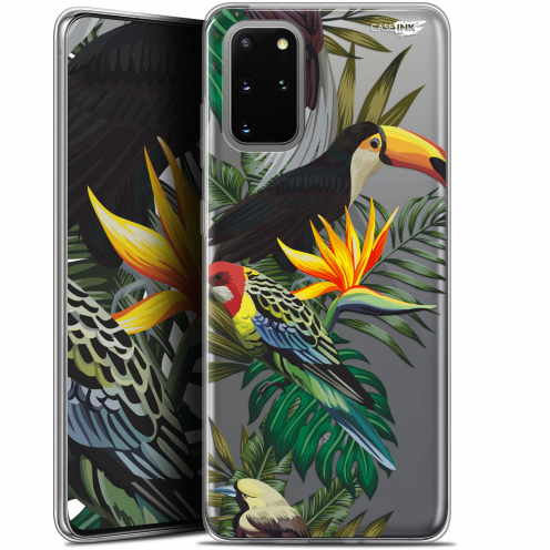 "Extra Slim Gel Samsung S20+ (6.7"") Case Design Toucan Tropical"