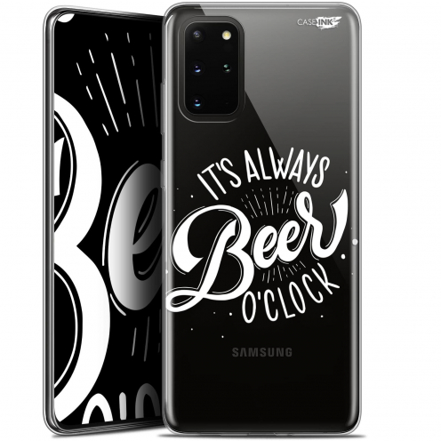 "Extra Slim Gel Samsung S20+ (6.7"") Case Design Its Beer O'Clock"