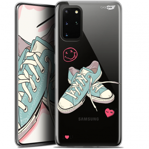 "Extra Slim Gel Samsung S20+ (6.7"") Case Design Mes Sneakers d'Amour"