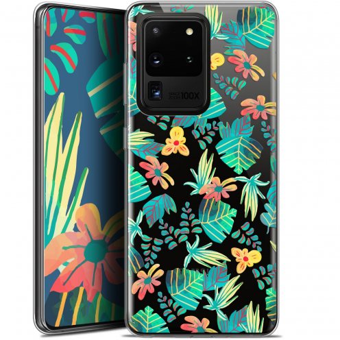 "Extra Slim Gel Samsung Galaxy S20 Ultra (6.9"") Case Spring Tropical"