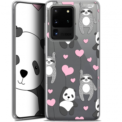 "Extra Slim Gel Samsung Galaxy S20 Ultra (6.9"") Case Design Panda'mour"