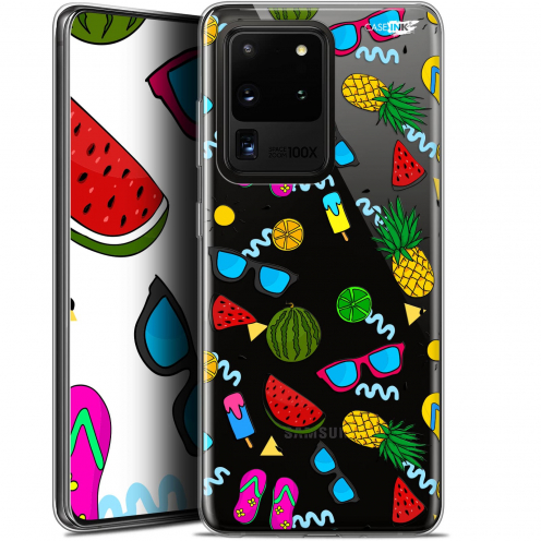 "Extra Slim Gel Samsung Galaxy S20 Ultra (6.9"") Case Design Summers"