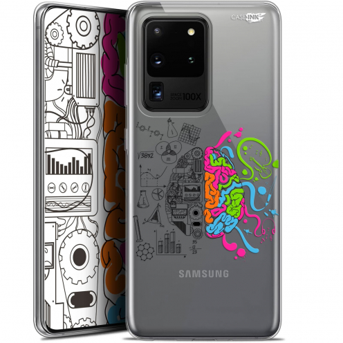 "Extra Slim Gel Samsung Galaxy S20 Ultra (6.9"") Case Design Le Cerveau"
