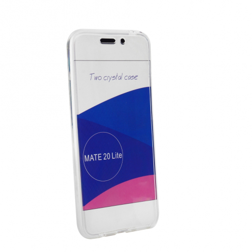 "360"" Ultra Slim Front+Back for Case Huawei Mate 20 LITE transparent"