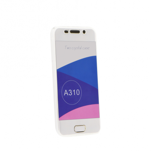 """360"""" Ultra Slim Front+Back for Case Samsung Galaxy A40 transparent"""