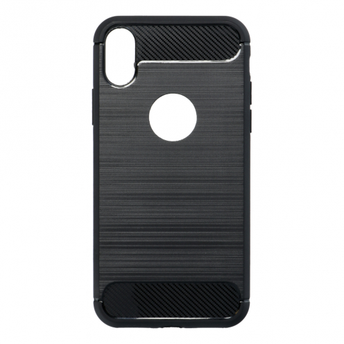 Forcell CARBON Case for iPhone X black
