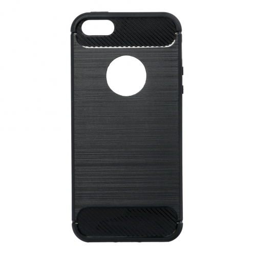 Forcell CARBON Case for iPhone 5/5S/SE black