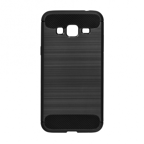 Forcell CARBON Case for Samsung Galaxy J3 2016 black
