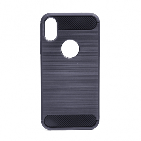 """Forcell CARBON Case for iPhone XS ( 5,8"""" ) graphite"""