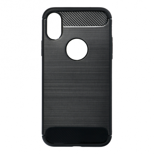 """Forcell CARBON Case for iPhone XS ( 5,8"""" ) black"""
