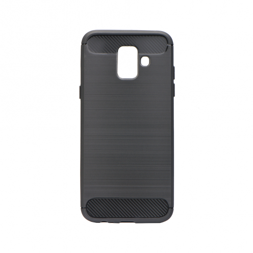 Forcell CARBON Case for Samsung Galaxy J6 2018 black