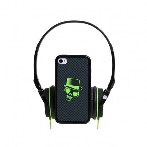 Box headphones with bumper Blueway ® So Rock Skull edition removable backpack