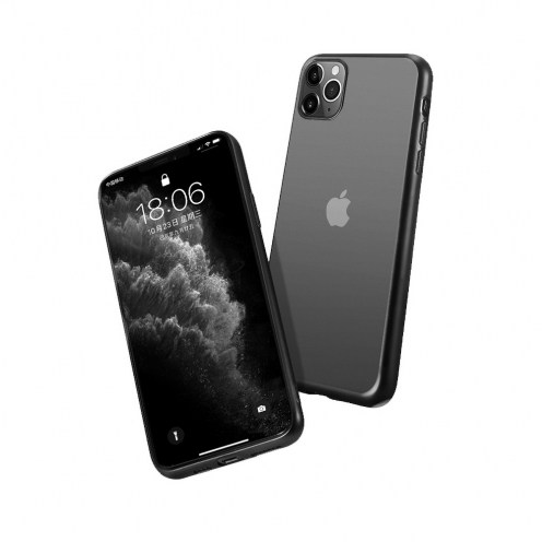Forcell NEW ELECTRO MATT Case for Huawei Y6P black