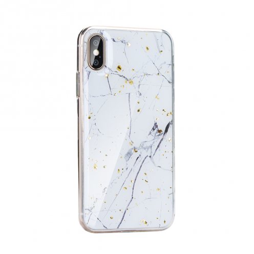 Forcell MARBLE Case for Huawei P40 Lite E design 1
