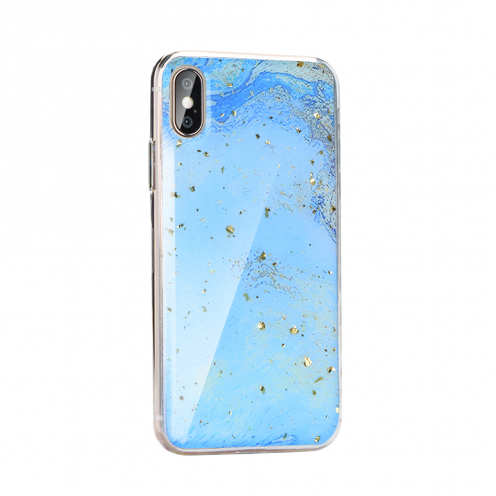 Forcell MARBLE Case for Huawei P40 Lite E design 3