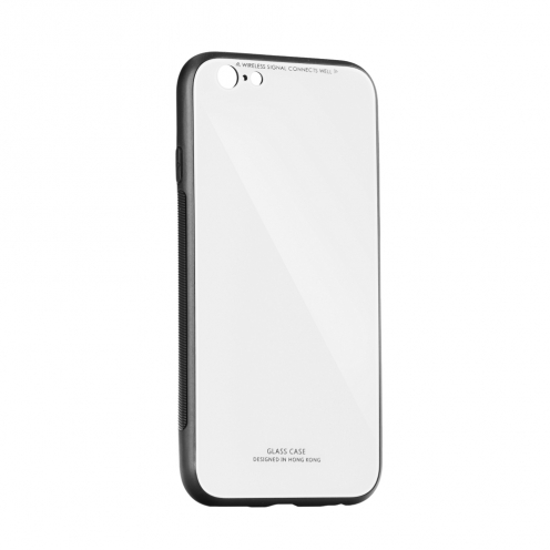 "GLASS Case for iPhone XR ( 6,1"" ) white"