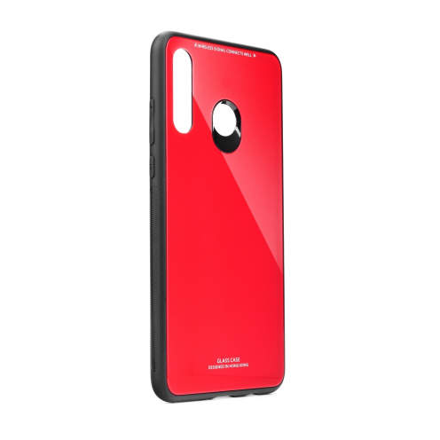 GLASS Case for Huawei P30 LITE red