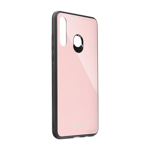 GLASS Case for Huawei P30 LITE pink
