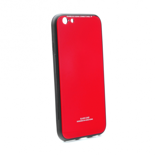 GLASS Case for iPhone 6 / 6S red