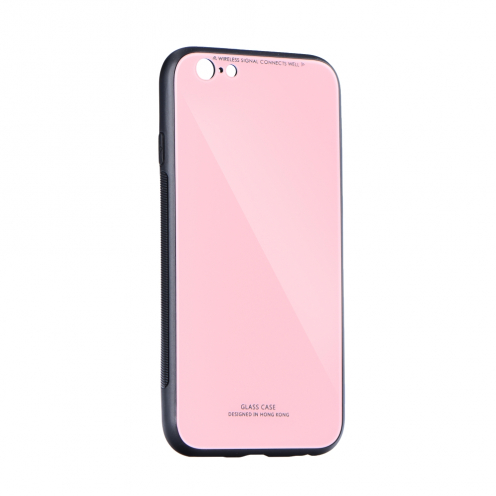 GLASS Case for iPhone 6 / 6S pink