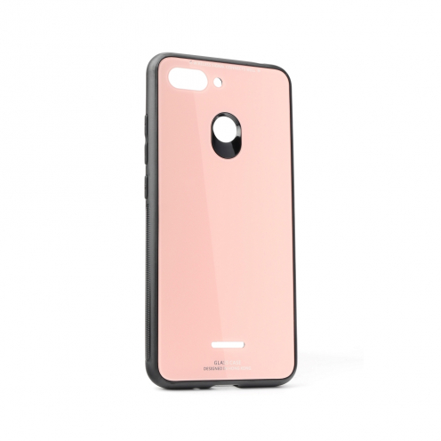 GLASS Case for Xiaomi Redmi GO pink