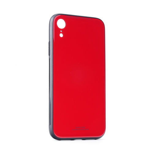 "GLASS Case for iPhone 11 2019 ( 6,1"" ) red"