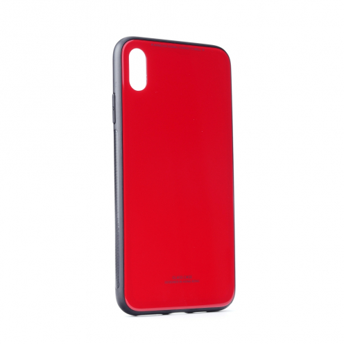 "GLASS Case for iPhone 11 PRO MAX 2019 ( 6,5"" ) red"