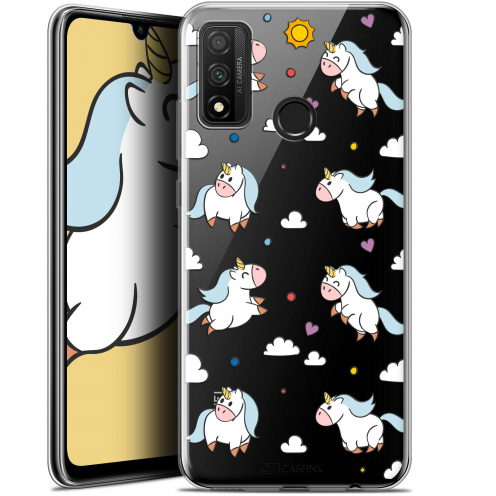 "Extra Slim Gel Huawei P Smart 2020 (6.2"") Case Fantasia Licorne In the Sky"