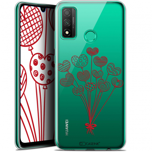 "Extra Slim Gel Huawei P Smart 2020 (6.2"") Case Love Ballons d'amour"
