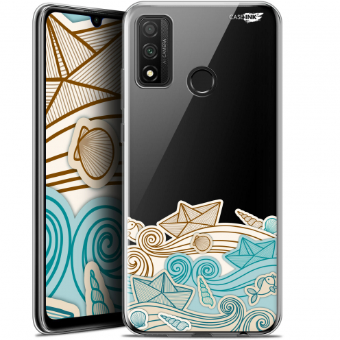 "Extra Slim Gel Huawei P Smart 2020 (6.2"") Case Design Bateau de Papier"