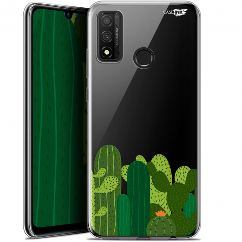 "Extra Slim Gel Huawei P Smart 2020 (6.2"") Case Design Cactus"