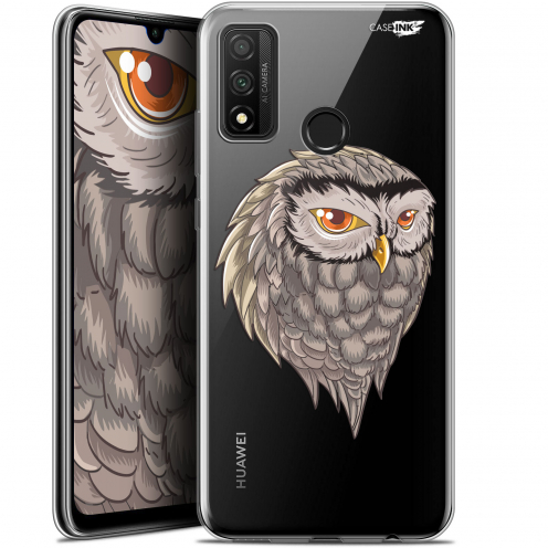 "Extra Slim Gel Huawei P Smart 2020 (6.2"") Case Design Hibou Draw"